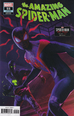 "Amazing Spider-Man (2018 series) #55 (Variant Incentive ""Miles Morales"" Cover - Brian Horton)"