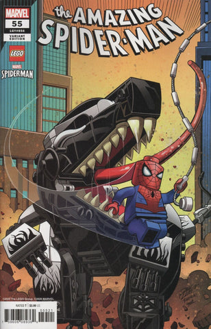 "Amazing Spider-Man (2018 series) #55 (Variant ""Lego"" Cover - Ron Lim)"