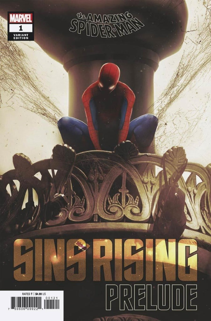 "Amazing Spider-Man; Sins Rising Prelude (2020 one-shot) #1 (Variant ""Artist"" Cover - Boss Logic)"
