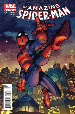 Amazing Spider-Man (2014 Series) #1.1 (Variant Incentive Cover - John Romita Jr.)
