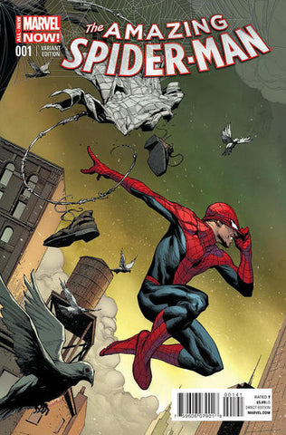 Amazing Spider-Man (2014 Series) #1 (Variant Incentive Cover - Jerome Opena)