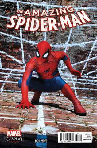 "Amazing Spider-Man (2015 Series) #1 (Variant Incentive ""Cosplay"" Cover - Photo)"