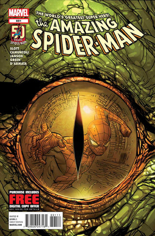 Amazing Spider-Man (1999 Series) #691