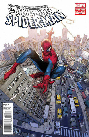 Amazing Spider-Man (1999 Series) #700 (Variant Cover - Olivier Coipel)