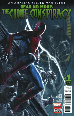 Amazing Spider-Man: The Clone Conspiracy (2016 Mini-Series) #1 (of 5) (Variant 3rd Printing Cover - Gabriele Dell'Otto)