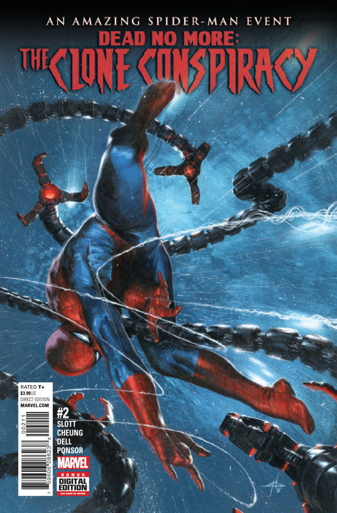Amazing Spider-Man: The Clone Conspiracy (2016 Mini-Series) #2 (of 5) (Regular Cover - Gabriele Dell'Otto)