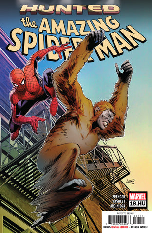 Amazing Spider-Man (2018 series) #18.HU (Regular Cover - Greg Land)