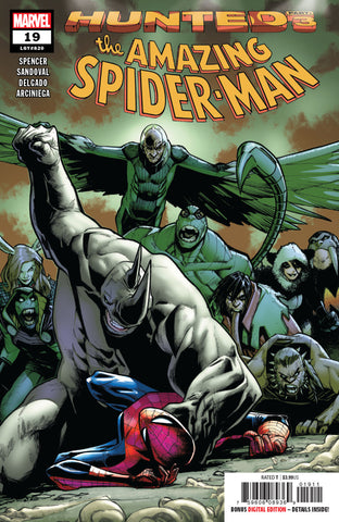 Amazing Spider-Man (2018 series) #19 (Regular Cover - Humberto Ramos)