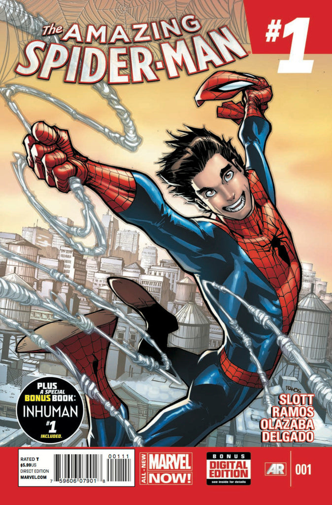 Spider-Man (2014 series) #01-6 [SET] — Volume 01: The Parker Luck (All Regular Covers)
