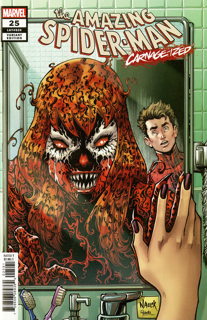 "Amazing Spider-Man (2018 series) #25 (Variant ""Carnage-ized"" Cover - Todd Nauck)"