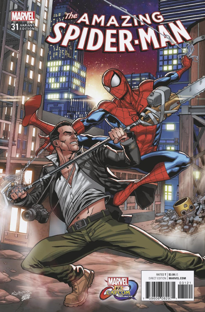 "Amazing Spider-Man (2015 Series) #31 (Variant ""Marvel vs. Capcom: Infinite"" Cover - Will Sliney)"