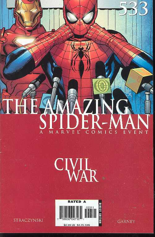 Amazing Spider-Man (1999 Series) #533