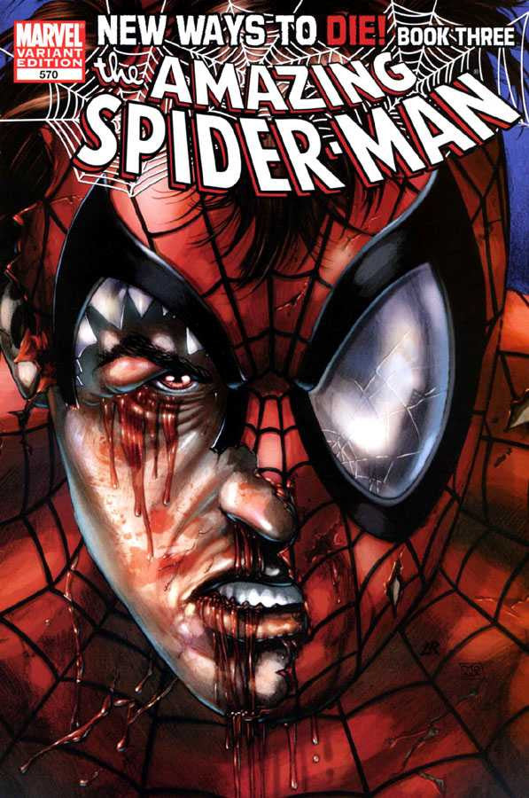 Image result for Amazing Spider-Man (vol. 1) #568-573 new ways to die