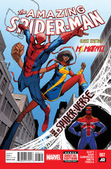 Spider-Man (2014 series) #07 (A Multi-Title Crossover) [SET] — Volume 02 (A): The Edge of the Spider-Verse; The Complete Saga