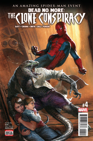 Amazing Spider-Man: The Clone Conspiracy (2016 Mini-Series) #4 (of 5) (Regular Cover - Gabriele Dell'Otto)