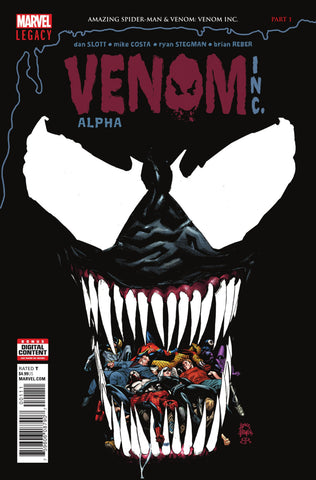 Amazing Spider-Man & Venom: Venom, Inc. (2017 one-shot) Alpha (Regular Cover - Ryan Stegman)