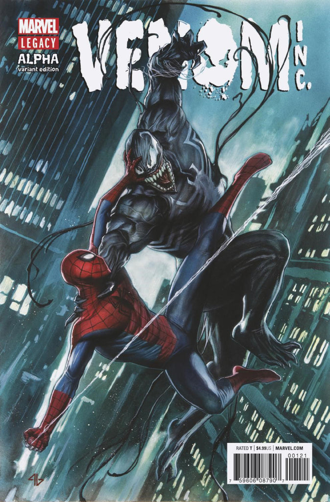 "Amazing Spider-Man & Venom: Venom, Inc. (2017 one-shot) Alpha (Variant ""Artist"" Cover - Adi Granov)"