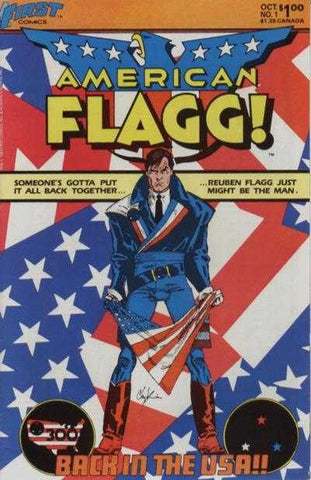 American Flagg! (1983 Series) #1