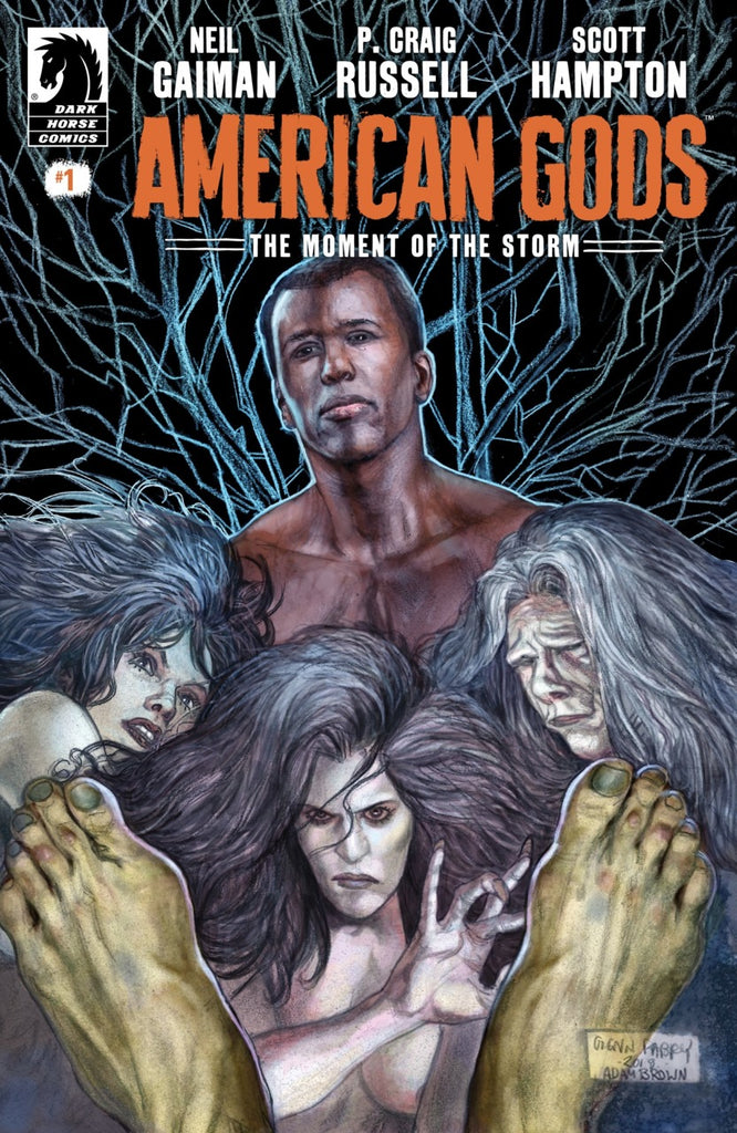 American Gods (2019 mini-series) #1-9 [SET] — Book 03: The Moment of the Storm (All Regular Covers)