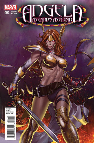 Angela: Asgard's Assassin (2014 Series) #2 (Variant Incentive Cover - Mike Choi)
