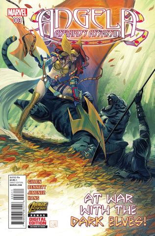 Angela; Asgard's Assassin (2014 mini-series) #3 (of 6)