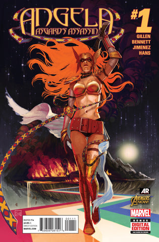 Angela; Asgard's Assassin (2014 mini-series) #1 (of 6) (Regular Cover - Stephanie Hans)