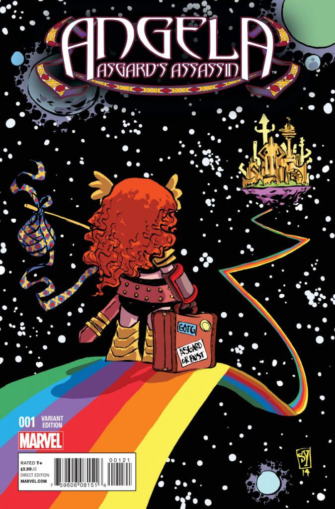 "Angela: Asgard's Assassin (2014 Series) #1 (Variant ""Baby"" Cover - Skottie Young)"