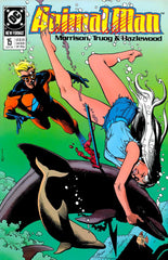Animal Man (1988 series) #10-17 + Secret Origins #39 [SET] — Volume 02: Origin of the Species