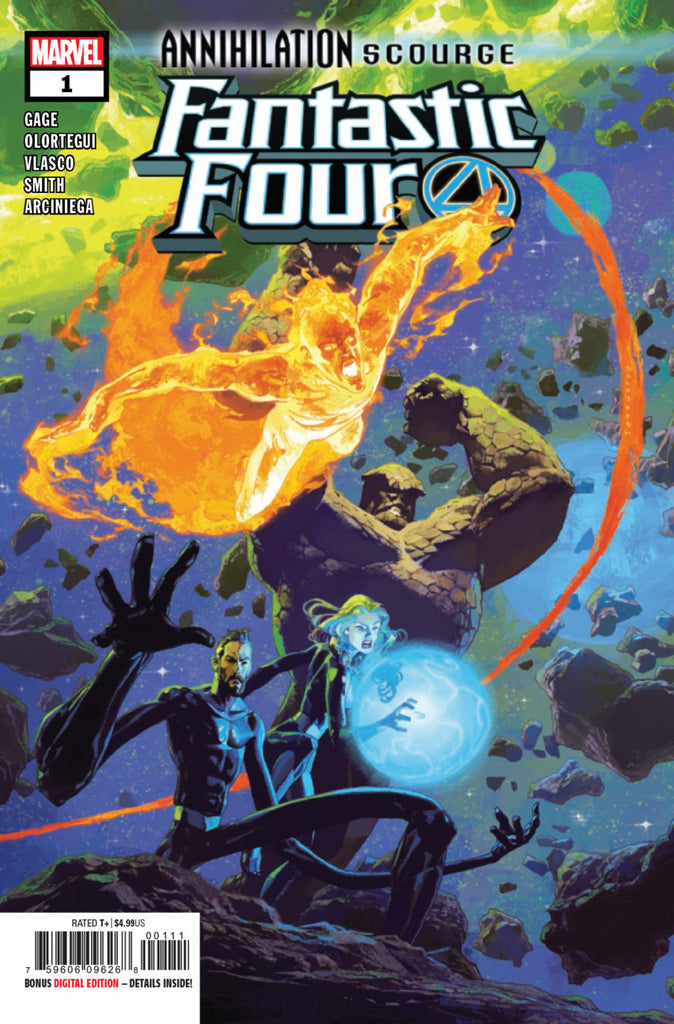 Annihilation Scourge; Fantastic Four (2019 one-shot) #1 (Regular Cover - Eduard Petrovich)