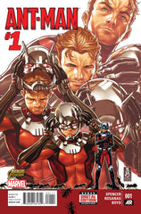 Ant-Man (2015 mini-series) #1-5 + Annual #1 + Last Days [SET] — The Second Chance Man