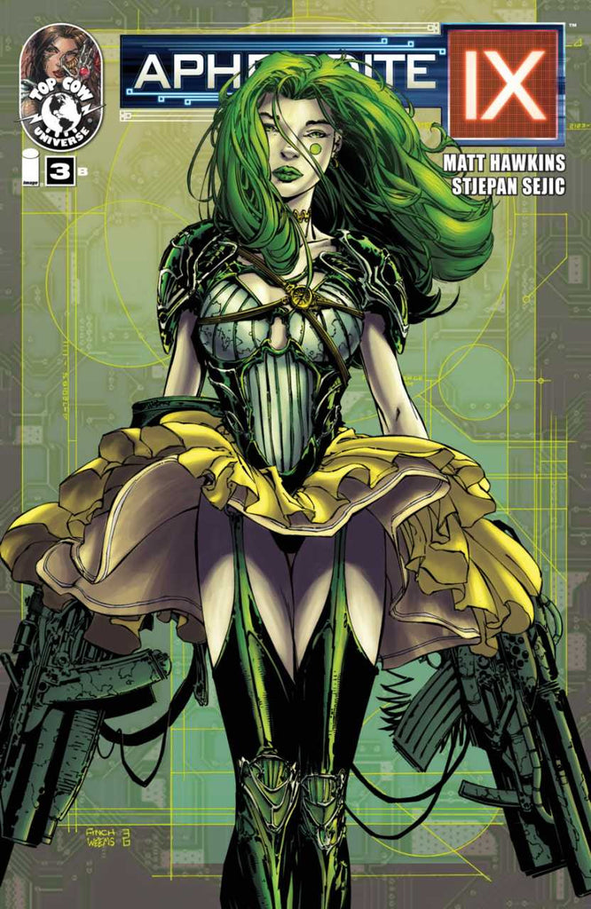 "Aphrodite IX (2013 Mini-Series) #3 (Variant ""B"" Cover - David Finch)"