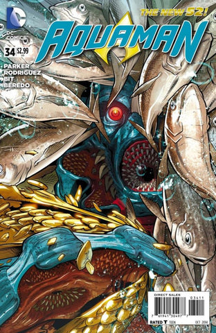 Aquaman (2011 Series) #34