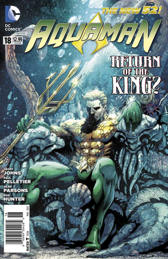 Aquaman (2011 series) #18 (A Multi-Title Crossover) [SET] — Volume 04: Death of a King (All Regular Covers)