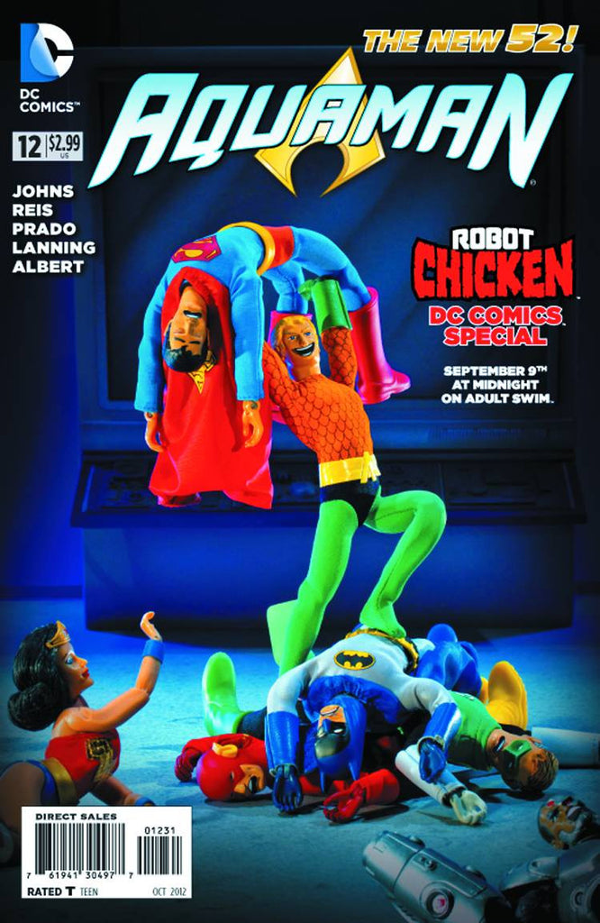 Aquaman (2011 Series) #12 (Variant Cover - Robot Chicken)