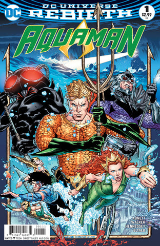 Aquaman (2016 Series) #1 (Regular Cover - Brad Walker)