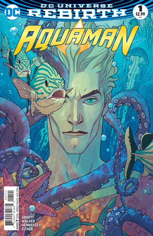Aquaman (2016 Series) #1 (Variant Cover - Joshua Middleton)