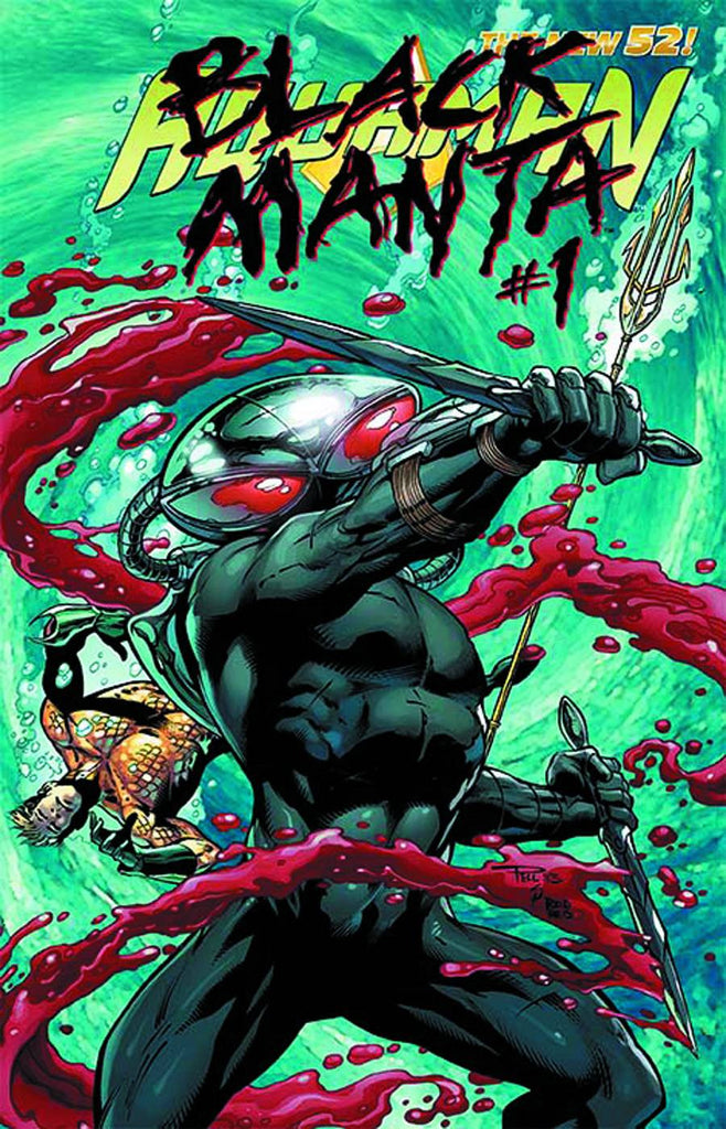 Aquaman (2011 Series) #23.1 Black Manta (Regular Cover - Paul Pelletier)