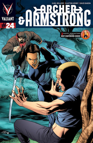 Archer & Armstrong (2012 Series) #24 (Regular Cover - Clayton Henry)