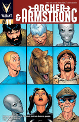 Archer & Armstrong (2012 series) #10-13 + #0 [SET] — Volume 03: Far, Faraway (All Regular Covers)