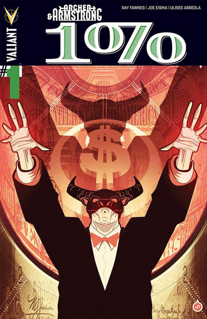 "Archer & Armstrong: The One Percent (2014 One-Shot) #1 (Regular ""A"" Cover - Juan Doe)"