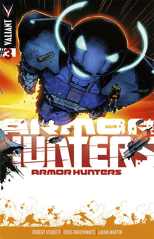 Armor Hunters (2014 Mini-Series) #3 (Variant Incentive Cover - Trevor Hairsine)