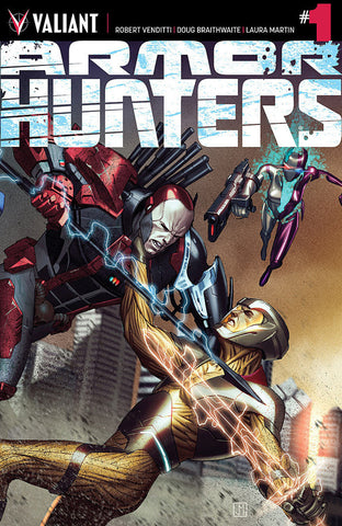"Armor Hunters (2014 Mini-Series) #1 (Regular ""A"" Cover - Jorge Molina)"