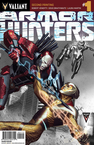Armor Hunters (2014 Mini-Series) #1 (Variant 2nd Printing Cover - Jorge Molina)
