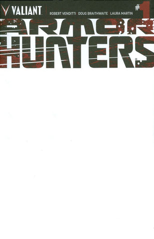Armor Hunters (2014 Mini-Series) #1 (Variant Cover - Blank)