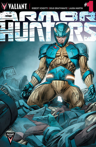 Armor Hunters (2014 Mini-Series) #1 (Variant Incentive Cover - Doug Braithwaite)