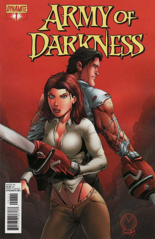 "Army of Darkness (2012 series) #1 (Variant ""B"" Cover - Marat Mychaels)"