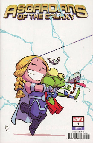 "Asgardians of the Galaxy (2018 series) #1 (Variant ""Baby"" Cover - Skottie Young)"