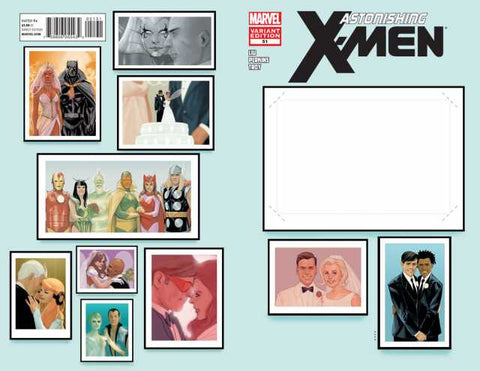 "Astonishing X-Men (2004 Series) #51 (Variant ""Create Your Own Wedding"" Wrap Cover - Dustin Weaver)"