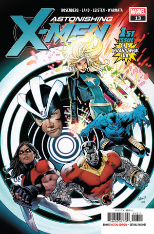 Astonishing X-Men (2017 Series) #13 (Regular Cover - Greg Land)