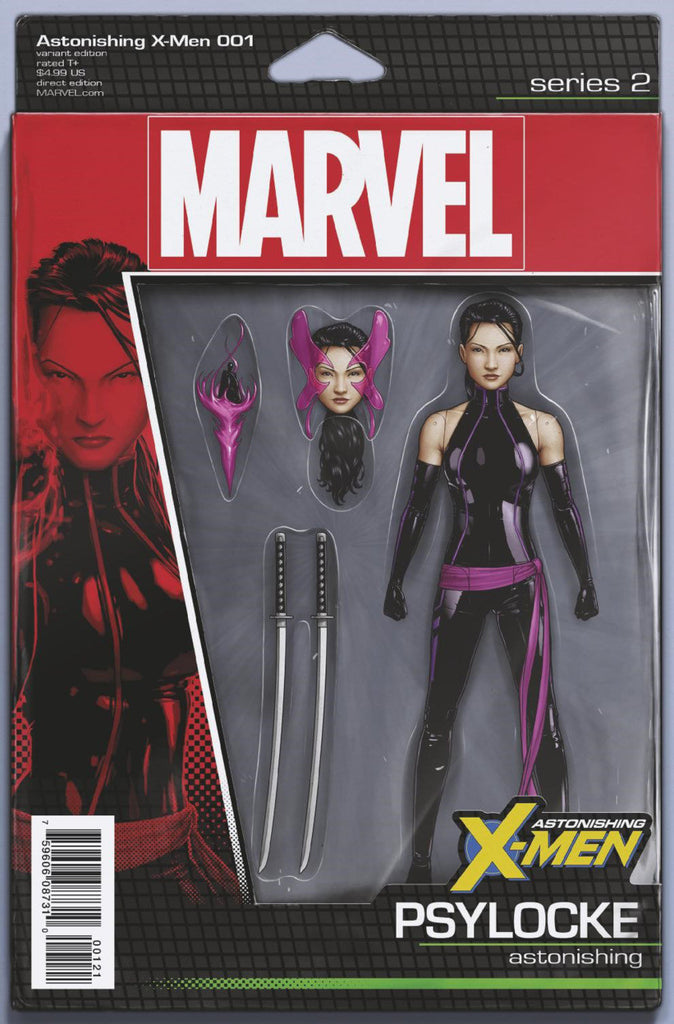 "Astonishing X-Men (2017 Series) #1 (Variant ""Action Figure"" Cover - John Tyler Christopher)"